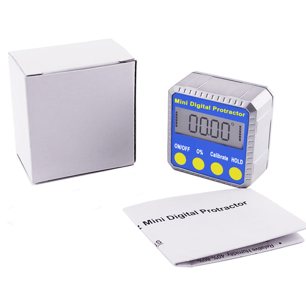 810-100  Digital Bevel Box/ Inclinometer w/ Magnets & Always Upright Display