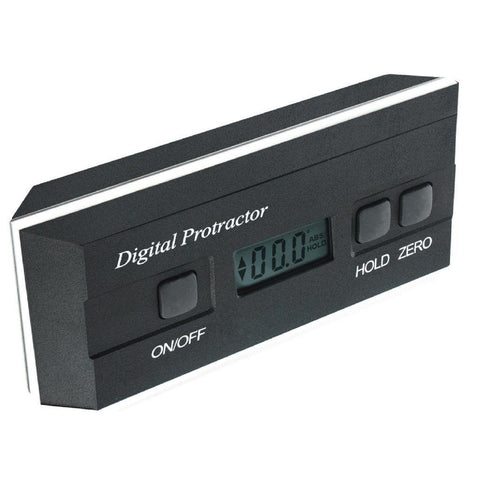 AG-82201B Digital 360° Level Meter Angle Finder Protractor with Magnets / V-groove 0.1° Accuracy LCD Display