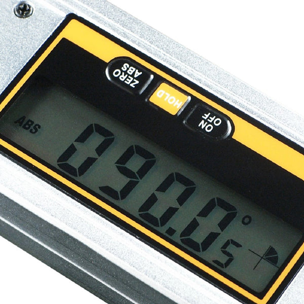 AG-82302 Digital Angle Finder / Protractor Tool with Spirit Level 0 ~ 360° Measuring Range 0.1° Accuracy