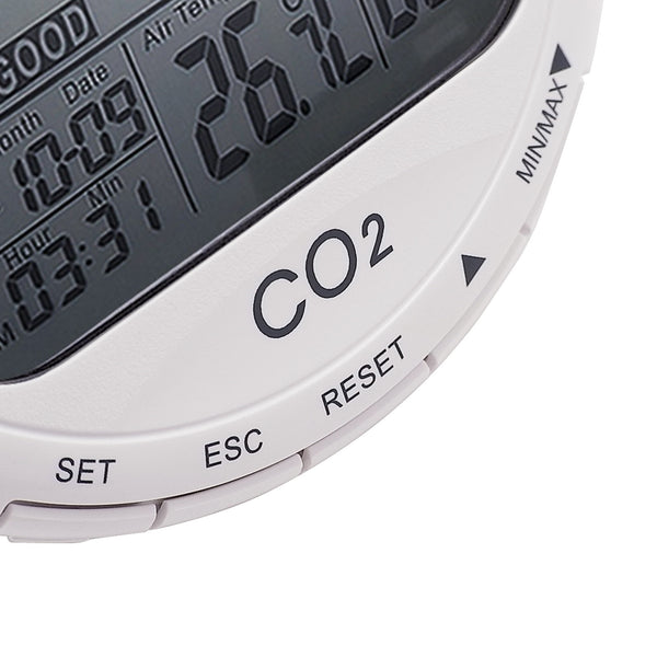 CO87 Desktop Indoor Air Quality Monitor Temperature Humidity RH CO2