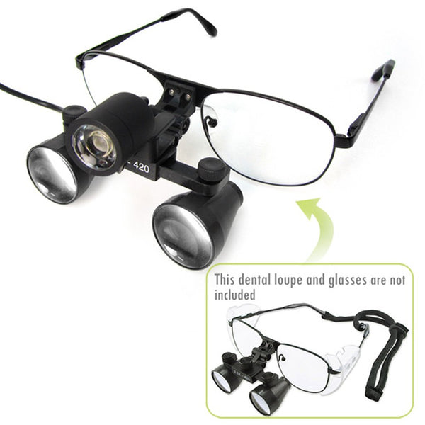 DLH-60 Portable LED Head Light Lamp Medical Loupes