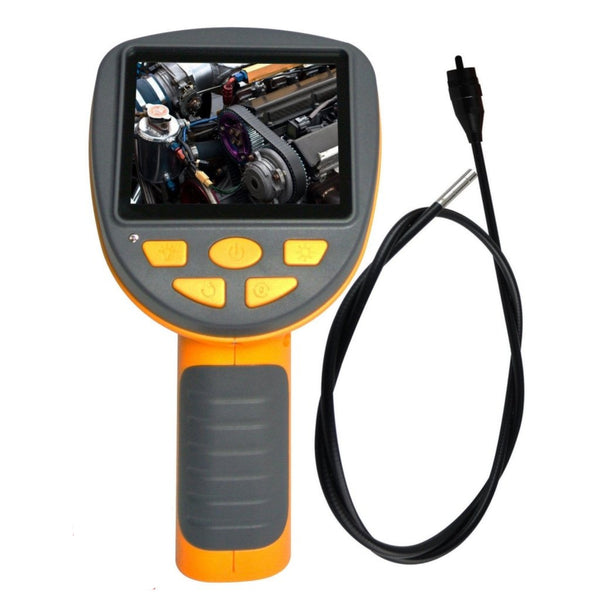 "C0599H_1M_3.9mm Industrial 3.5"" LCD Video Inspection Endoscope Borescope 1M Cable w/ 3.9mm Camera"