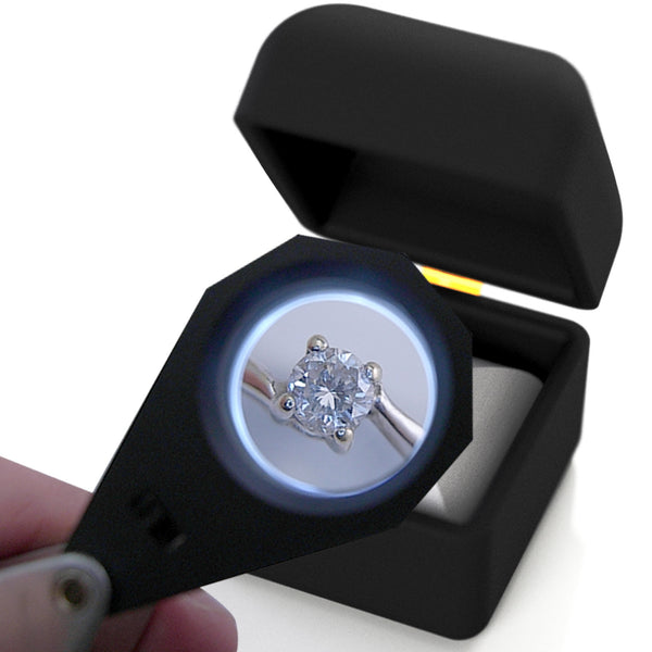 Gm20 20x 21mm Lens Jeweler Loupe Magnifier 6 Led Light