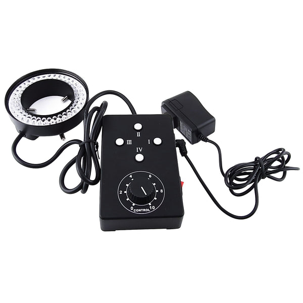 HS-72 Ring Light 62mm 72 LED Microscope Camera Illuminator Flash Lens