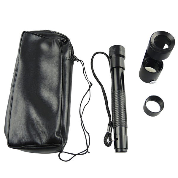 CLMG-7202 80mm Length + 28mm diameter Handheld Polariscope with Flashlight