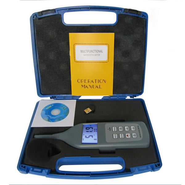 SL-5868P-BT Professional Sound Level Meter 30~130dB CD Software & Bluetooth