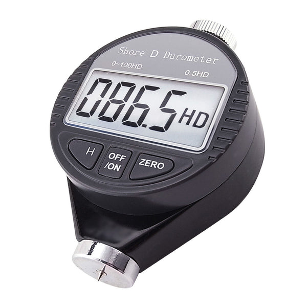 560-10D Shore D Digital Hardness Meter Durometer 0~100HD Pocket Size Tester with LCD Display