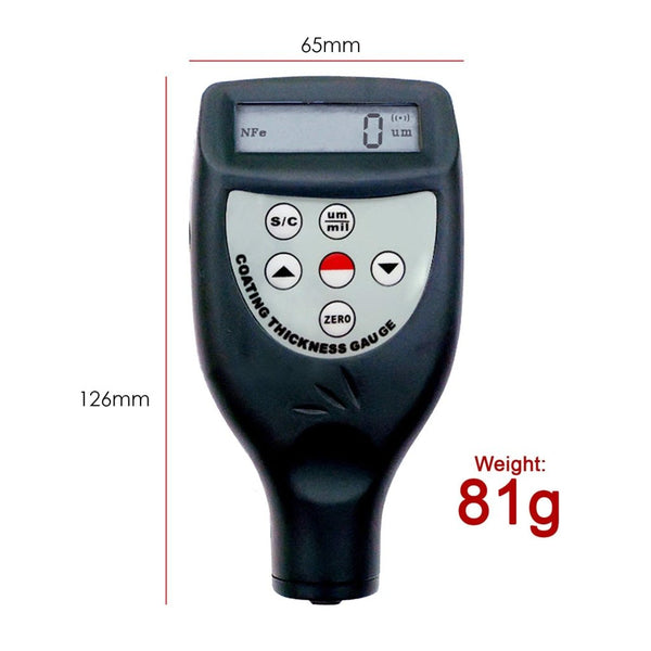 CM-8826FN Paint Coating Thickness Meter Gauge with F & NF Probes