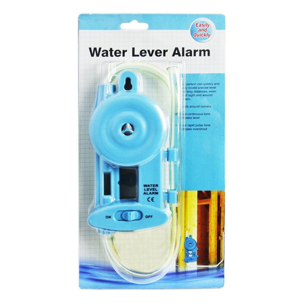E04-021 Electronic Water Level Alarm w/ Power Lamp & Groove