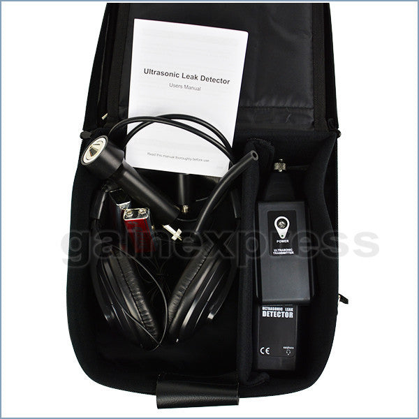 E04-040 Ultrasonic Leak Detector Pressure Air Water Dust Leakage Locator