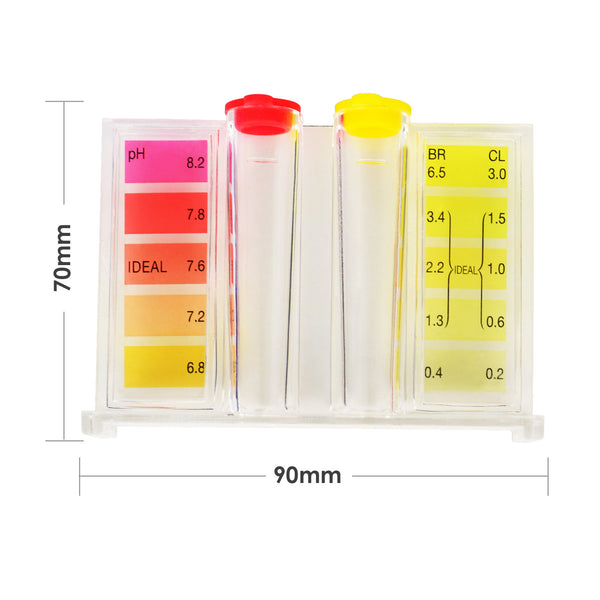 FC-003 Water ph Chlorine Tester Quality Pool CL2 Test Kit Chlorine HydroTools
