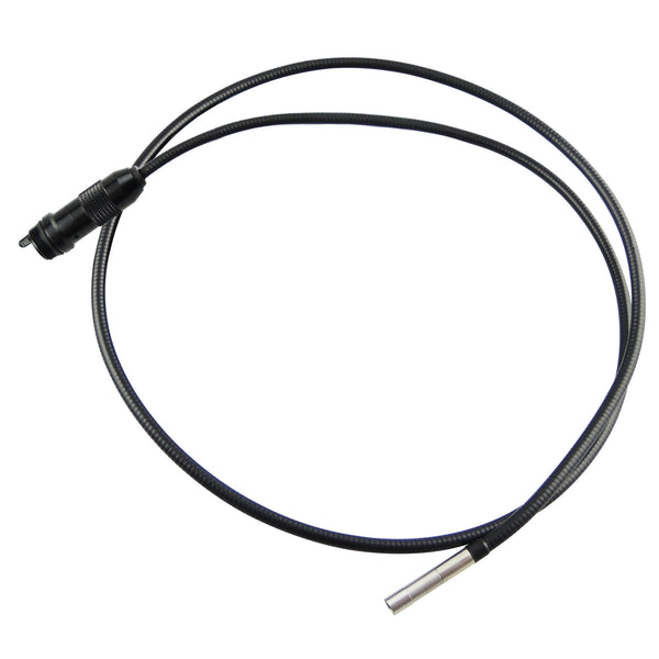 "VID-71R-5.5-1M 5.5mm Camera Recordable Video Inspection 2.4"" HD Endoscope 1M Cable Borescope 4 LED"
