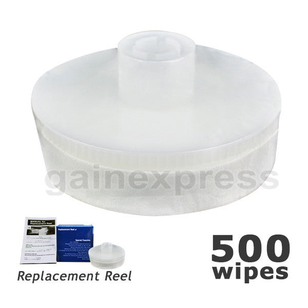 FOC-REFILL Replacement reel for Fiber Optic Cleaner 500 wipes