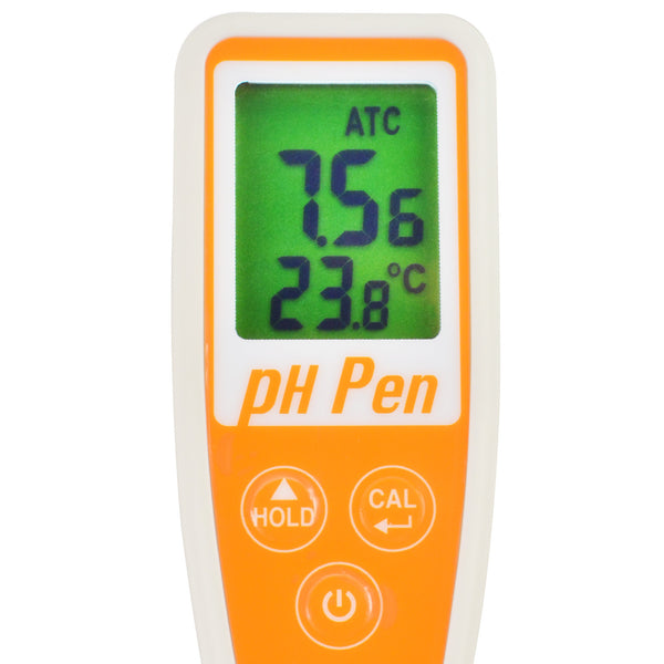 PH869-2 Pen type 12cm Probe pH Temperature Digital Meter 14.00 pH Pool Aquarium Water Quality Tester