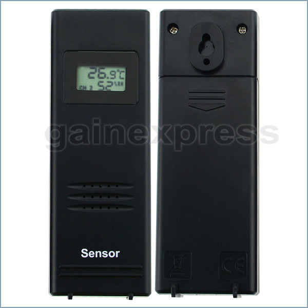 WS-103-EU_2S Weather Station Forecast Indoor Outdoor Air Pressure Thermometer Temperature Tester