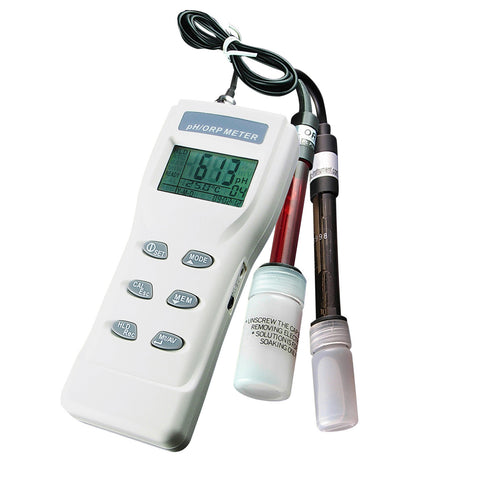 ORP-8651 3-in-1 Heavy Duty pH, mV & Temperature Meter w/ auto buffer recognition