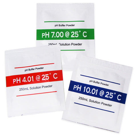 pH Powder Calibration Solution 4.01  7.00  10.01 pH set