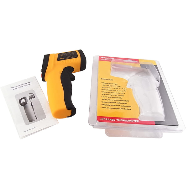 IR-G550 Digital Non-Contact IR Infrared Digital Thermometer -58-1022°F