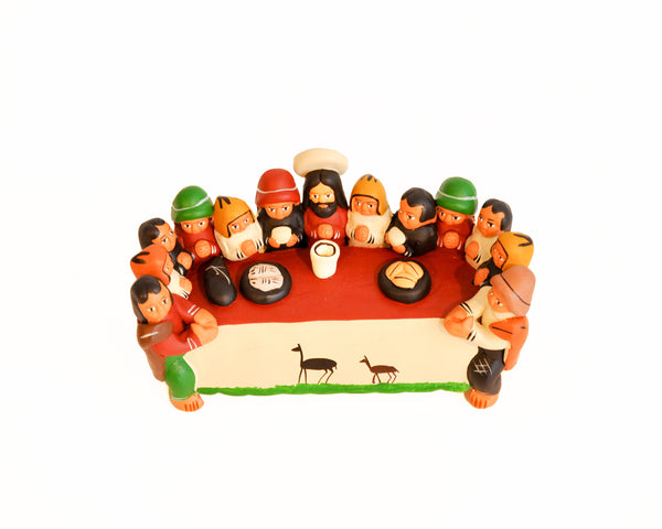 Last supper - Terracota ornament