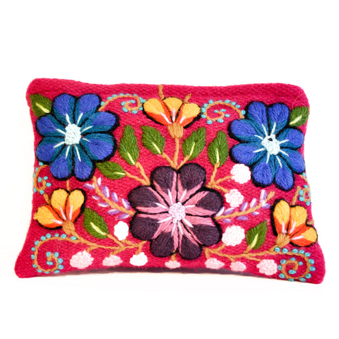 Ayacucho - Hand-embroidered purse