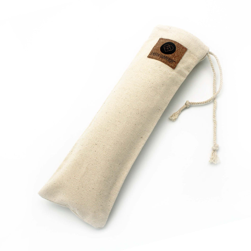 Cotton Straw Pouch | Earth Warrior® | Zero Waste