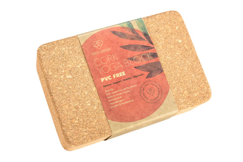 Earth Warrior™ Cork Yoga Block