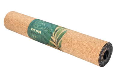 Earth Warrior™ Cork Yoga Mat - No PVC or Plastic