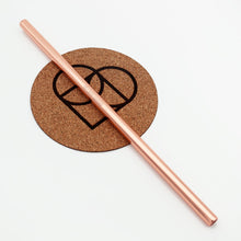 Stainless Steel Reusable Straws | Rose Gold | Straight | Earth Warrior™ | South Africa