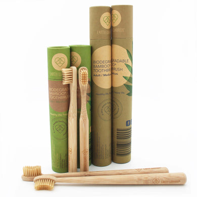 Bamboo Toothbrush | Family Pack