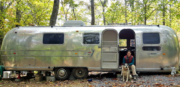 Rving with dog