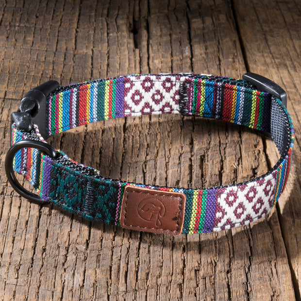 Urban Dog Collar - Mayan