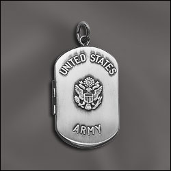 Military Dog Tag Lockets