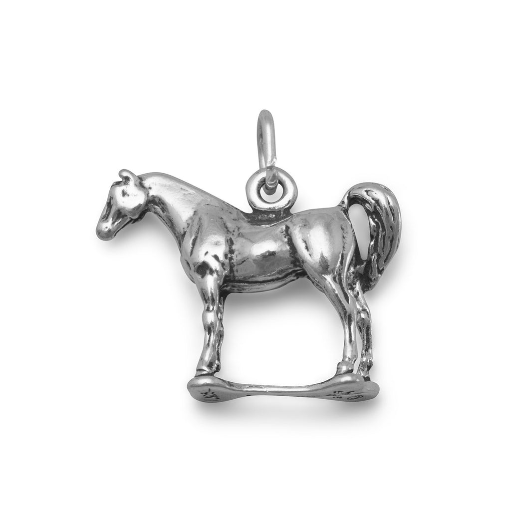 Standing Horse Charm