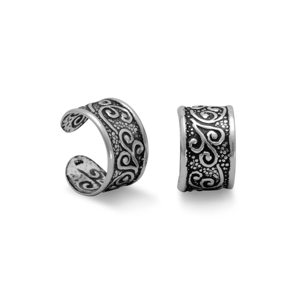 Oxidized Ear Cuffs