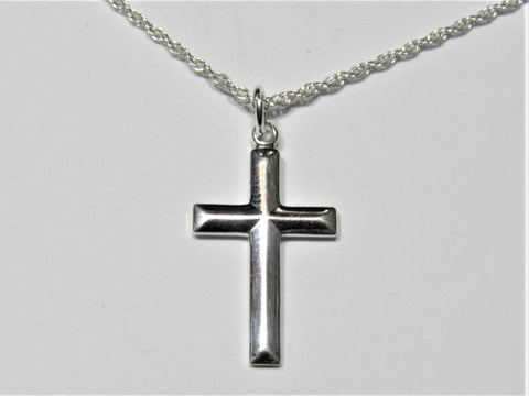 Hand-Crafted 23x13mm Cross Necklace/Pendant