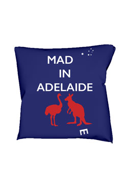 Mad(e) in Adelaide – cushion