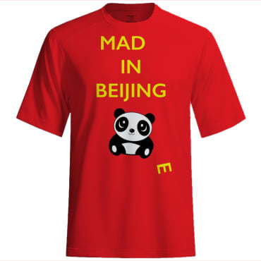 Mad(e) in Beijing – T-shirt