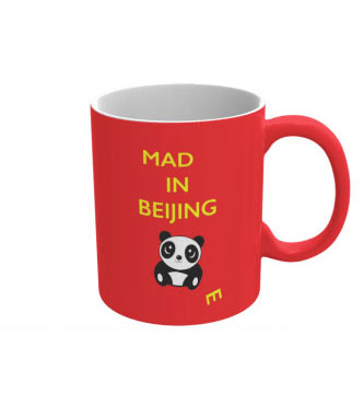 Mad(e) in Beijing – ceramic mug