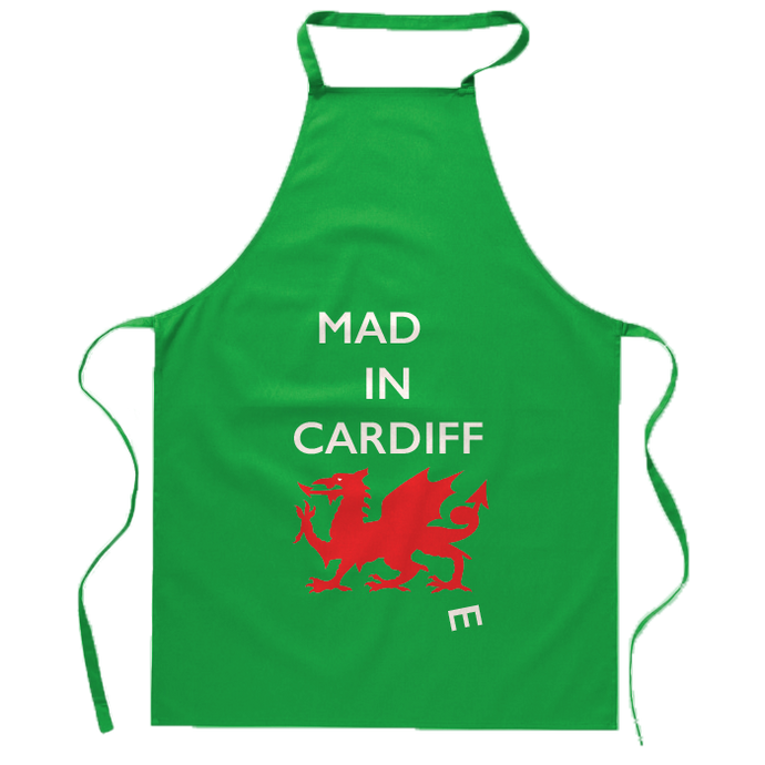 Mad(e) in Cardiff – Apron