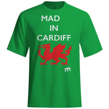 Mad(e) in Cardiff – T-shirt