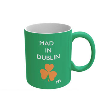 Mad(e) in Dublin – ceramic mug