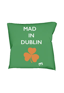 Mad(e) in Dublin – cushion
