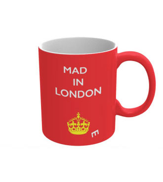 Mad(e) in London – ceramic mug