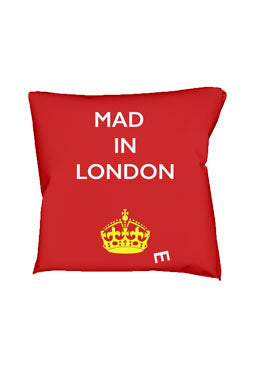 Mad(e) in London – cushion