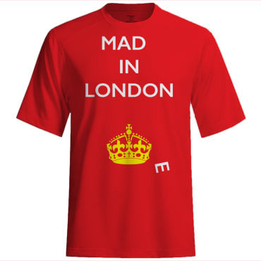 Mad(e) in London – T-shirt