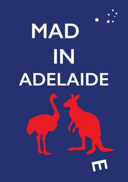 Mad(e) in Adelaide – limited edition poster