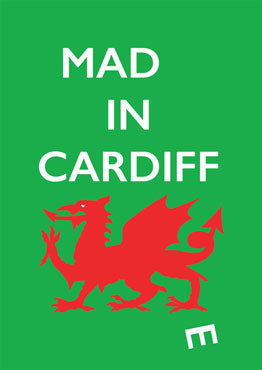 Mad(e) in Cardiff – limited edition poster