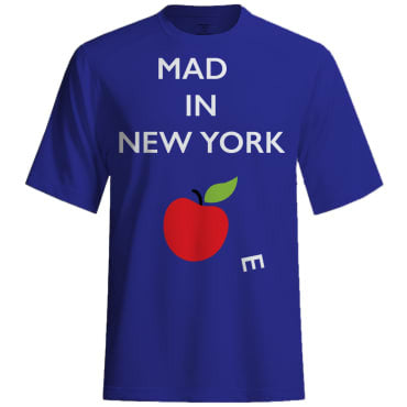Mad(e) in New York – T-shirt