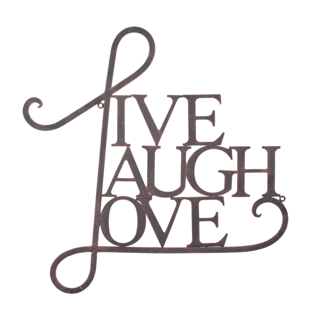 Tripar International - Live, Laugh, Love Wall Art