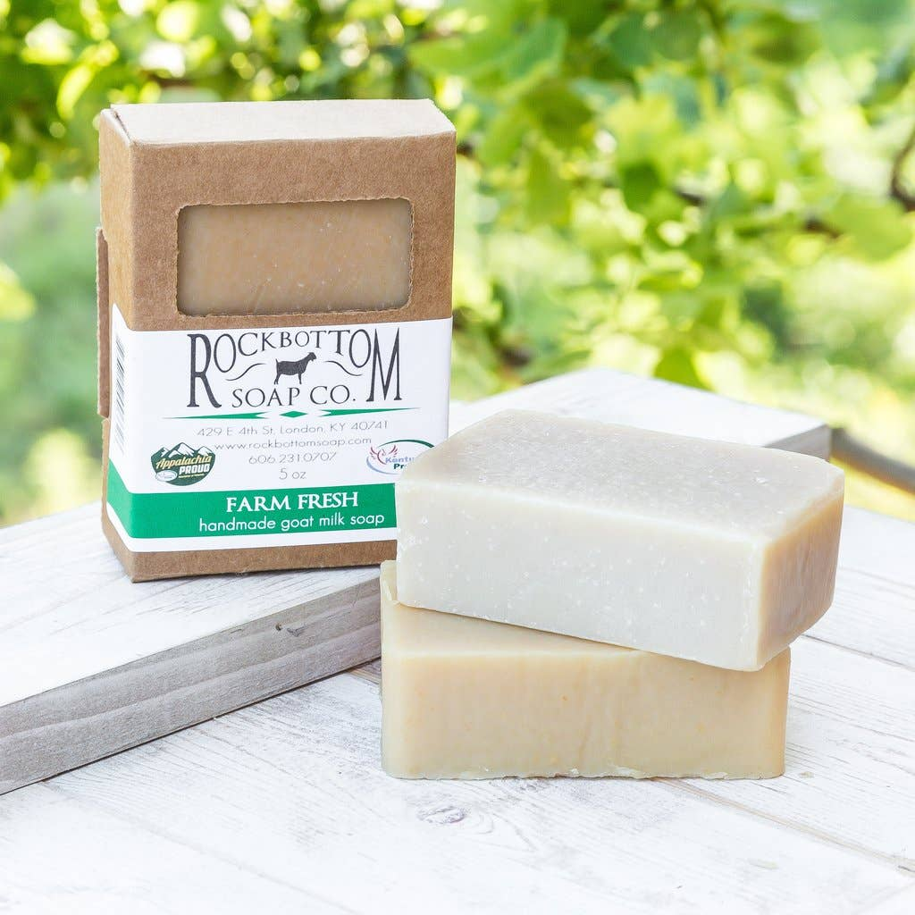 Rock Bottom Soap - Farm Fresh Goat Milk Soap